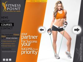 fitness by creativewebby