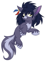 Commission: Wolf pony by ShilaDaLioness