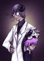 Stein, Crona, and Ragnarok by NoveltyCrazies