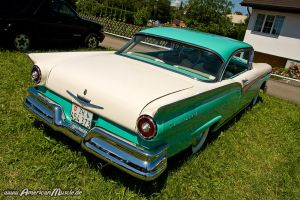 1957 Ford Fairlane Back by AmericanMuscle