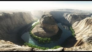 Horseshoe Bend by 5p34k