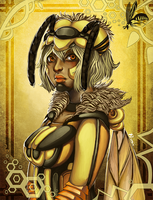 Wasp Queen by GDBee