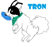 tron does discing by webkinzfun8