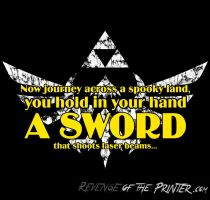 A Sword - Limited $10 Tee by KirbywithaMasamune