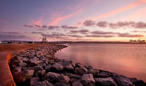 Sun sets over Albany WA by RaynePhotography