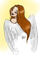 angel :D by BexHappy