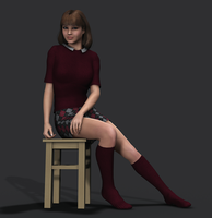 Amanda Jones - School Days HD by Torqual3D