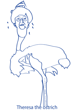 Theresa The Ostrich by CreativeDyslexic