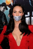 Megan Fox tape gagged by ikell