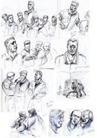 Quick poses from movies by hakepe