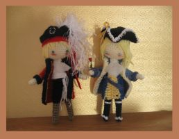 Com: Pirate UK and France by Yuki87
