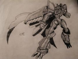 Alphamon by AaronHenn-M