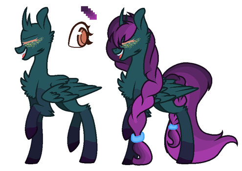 MysticStar child for RainbowJellybeans7 by CheshireGrinAdopts