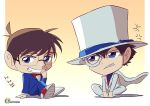 Conan and magic kaito by Eman-Thabet