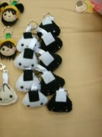 Onigiri Keychains by LiLMoon
