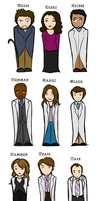 'House' Cast by HardlyQuinn