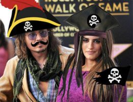 Penelope and Johnny as Pirates by picturizr