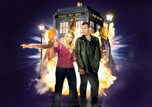 10 Years Of New Doctor Who 2005-2015 ROSE by AaronGittoes