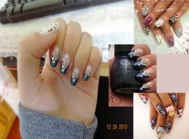 new year nails by zulinHL