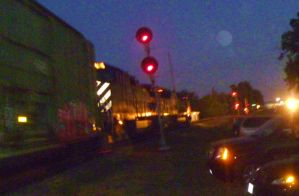 UP Southbound With BC Rail Unit II by SwiftWindSpirit