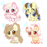 Adoptable Batch 2 [CLOSED] by TheNightgazer