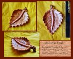 Autumn Leaf Key-holder (or Dish) for Sale~ by SpiderMilkshake