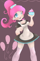 Pinkie pie human by Skune
