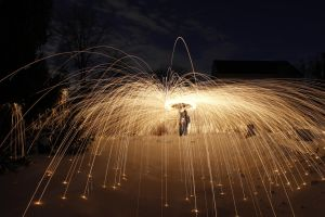 Steel Wool and Snow 3 by WillLeavey