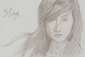 melody. +sketch 1+ by blackyuna
