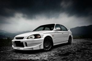 JC's Honda Civic 1998 by equinoxe7