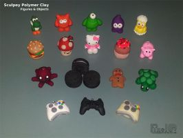 Sculpey Figures And Objects 1 by PixelOz