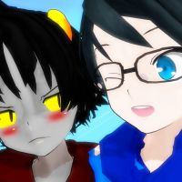 MMD John and Karkat-nessss by xFarEastAlicex
