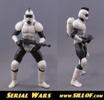 Serial Wars: Starsoldier by sillof