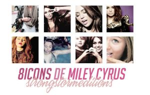 8iconsdemileycyrus by strongstorm