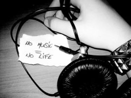 No music, no life by 0Silver0