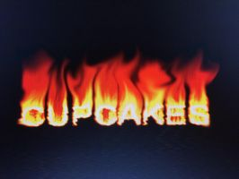 Cupcakes in FIRE!! by vwallace22