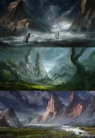 Landscape Paintings by KM33