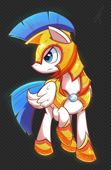 Pegasus Guard by Mister-Markers