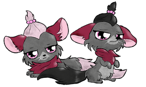 Twinchillas by Koalacubes