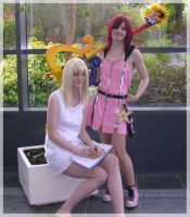 Namine and Kairi 2 by there-willberain