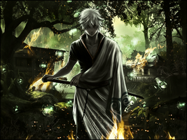 Gintoki Wallpaper by Pradyrk