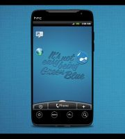 HTC Evo: Being Blue by TheAL