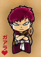 Chibi Gaara by Carrie-Tempest