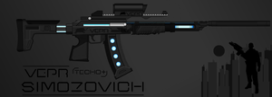 Vepr Industries - Assault Rifle 'Simozovich' by prokhorvlg