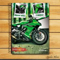 NoteBook Cover Bike Digital Art by JoabeDesign