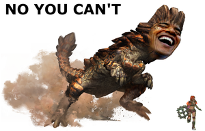 Barroth Obama by macawnivore