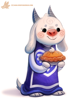 Daily Paint #1147. Toriel (Undertale) by Cryptid-Creations