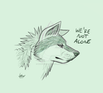 Not Alone {Sketch} by WolfPawCreator