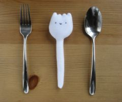 Spork or Foon Plush by Neoitvaluocsol