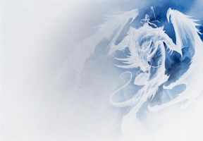 Ice Dragon (Original Image by Sandara) by kushion08